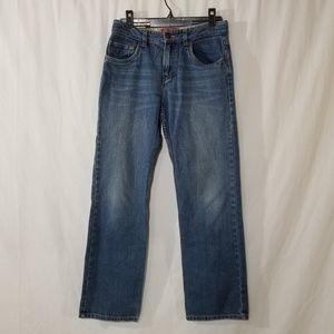 Levis 514 slim straight blue jeans